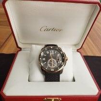 Cartier Calibre de Cartier Diver Gold/Steel 42mm Black Roman numerals