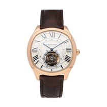 Cartier Drive de Cartier Rose gold 40mm Silver Roman numerals United States of America, Pennsylvania, Bala Cynwyd