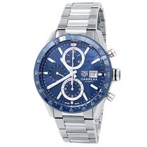 TAG Heuer CBM2112.BA0651 Steel 2010 Carrera 41mm pre-owned United States of America, New York, New York