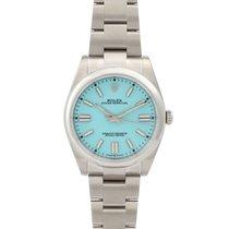 Rolex Oyster Perpetual nuevo 2021 Automático Reloj con estuche y documentos originales 124300-0006
