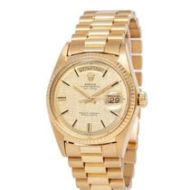Rolex 1803 Yellow gold 1971 Day-Date 36 36mm pre-owned United States of America, New York, Hartsdale