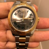 Rolex Datejust II Acero y oro 41mm Gris Romanos España, madrid