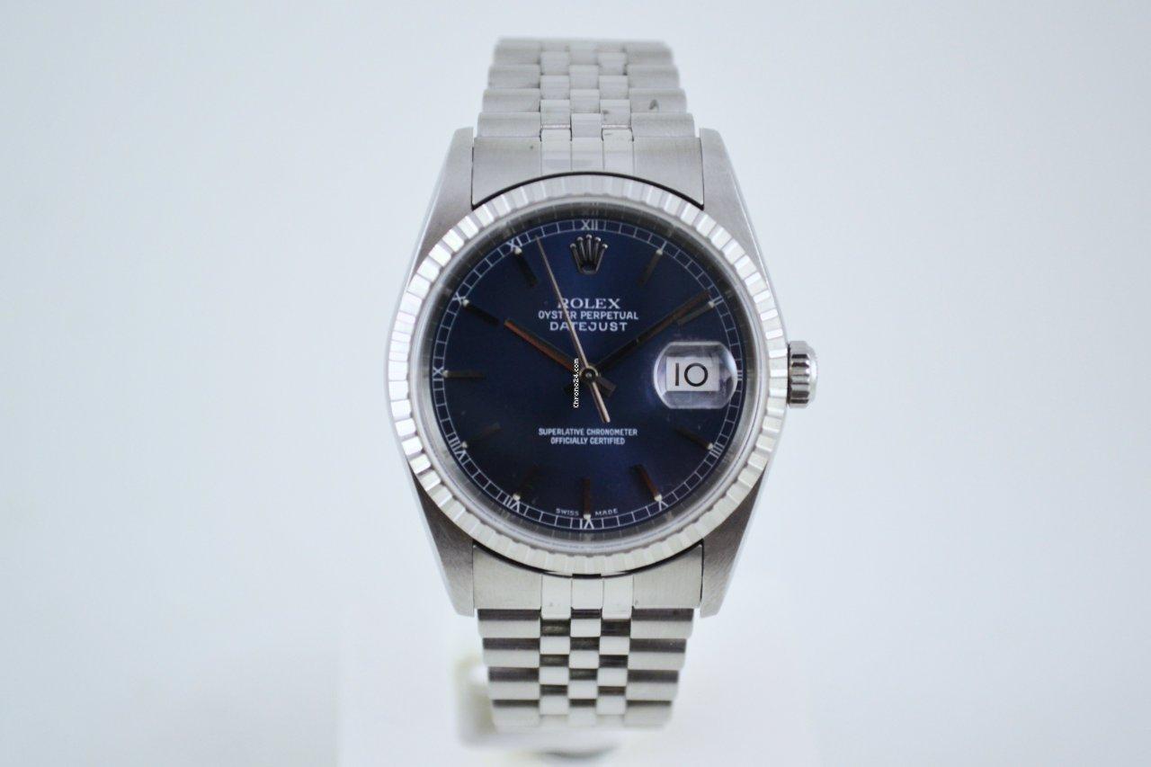 Rolex Datejust 16220 2003 tweedehands