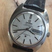Omega Constellation Day-Date Steel 35mm Silver No numerals United Kingdom, Ayrshire Scotland