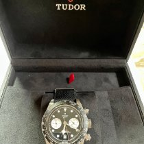 Tudor Black Bay Chrono Acero 41mm Negro Sin cifras