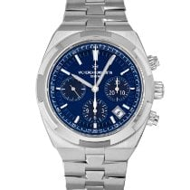 Vacheron Constantin Overseas Chronograph Steel 42.5mm Blue No numerals United States of America, Maryland, Baltimore, MD
