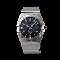 Omega Constellation Double Eagle Acero 38mm Negro Sin cifras
