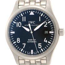 IWC (アイ・ダブリュー・シー) パイロット ウォッチ マーク ステンレス 39mm ブラック アラビアインデックス 日本, Tokyo