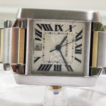 Cartier Tank Française Steel 28mm Silver Roman numerals India, MUMBAI