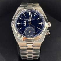 Vacheron Constantin Overseas Dual Time Steel 41mm Blue No numerals United States of America, New York, NY