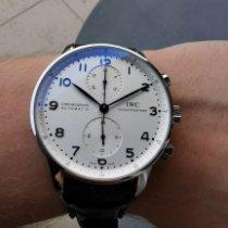 IWC Portuguese Chronograph Acél Ezüst Arab Magyarország, Budapest