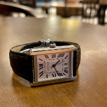 Cartier Tank Solo Steel Silver Roman numerals United States of America, New York, Forest Hills