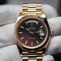 Rolex Day-Date 40 Yellow gold 40mm Black No numerals United States of America, Florida, Orlando
