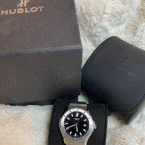 Hublot pre-owned Quartz 42mm Black Sapphire crystal 5 ATM