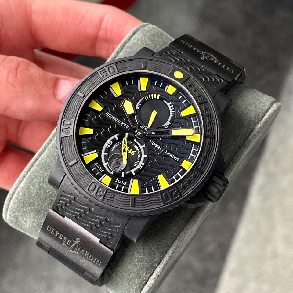 Ulysse Nardin Diver Black Sea 263-92-3C-924 2014 pre-owned