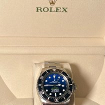 Rolex Sea-Dweller Deepsea Steel 44mm Blue No numerals United States of America, New York, New York