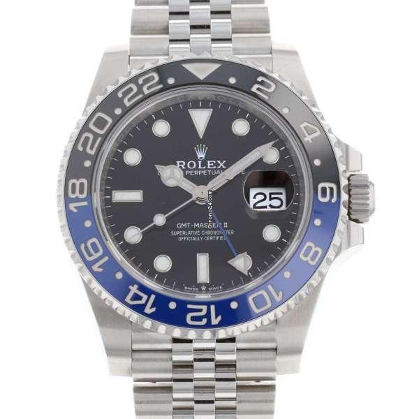 Rolex (ロレックス) GMT マスター II 126710BLNR 中古