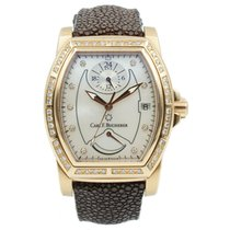 Carl F. Bucherer Rose gold Automatic Mother of pearl 36mm pre-owned Patravi