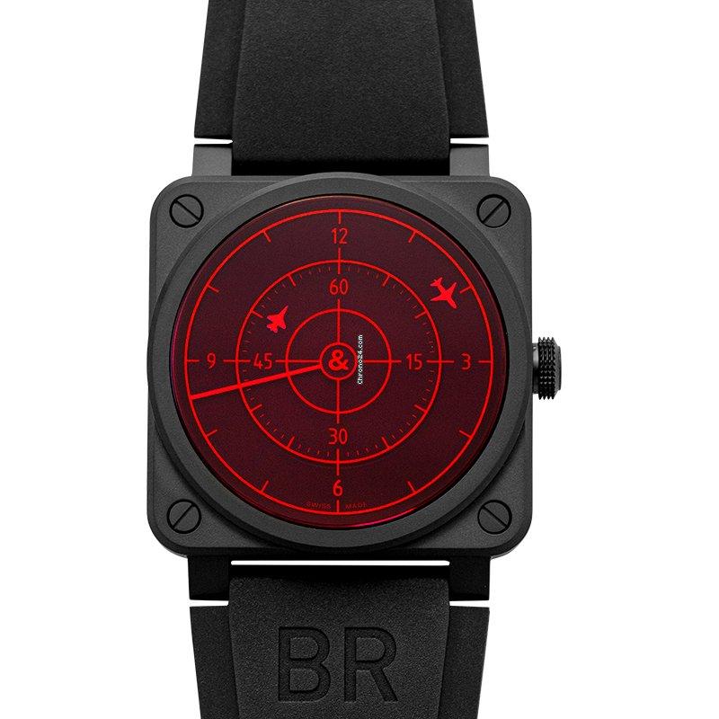 Bell & Ross BR 03-92 Ceramic BR0392-RRDR-CE/SRB 2021 новые