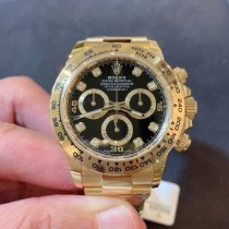 Rolex Daytona Yellow gold 40mm Black