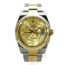 Rolex Datejust 126233 Ungetragen Gold/Stahl 36mm Automatik