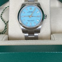 Rolex Oyster Perpetual 31 Steel 31mm Blue No numerals United Kingdom, Hayling Island