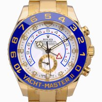 Rolex Yacht-Master II Yellow gold 44mm White No numerals United Kingdom, Radlett