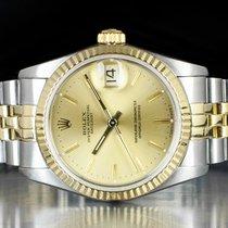 Rolex Lady-Datejust Gold/Steel 31mm Champagne No numerals