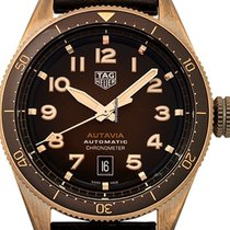 TAG Heuer Autavia Bronze 42mm Brown Arabic numerals United States of America, Florida, Hollywood