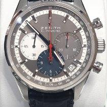 Zenith El Primero Original 1969 Steel 38mm Grey No numerals
