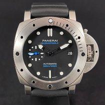 Panerai Luminor Submersible Steel 42mm Black No numerals