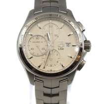 TAG Heuer Link Calibre 16 Steel 43mm Silver United States of America, New York, New York
