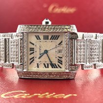 Cartier Tank Française Steel 25mm White Roman numerals United States of America, California, Pleasanton