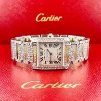 Cartier Tank Française Gold/Steel 25mm White Roman numerals United States of America, California, Pleasanton