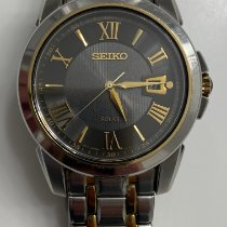 Seiko Solar Steel 40mm Grey No numerals United States of America, New Jersey, Upper Saddle River