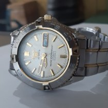 Seiko 5 Sports pre-owned Black Date Buckle