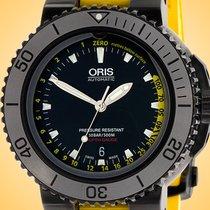 Oris Aquis Depth Gauge Steel 46mm Black United States of America, Illinois, Northfield