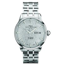 Ball Trainmaster Eternity Steel 39.5mm Silver (solid)