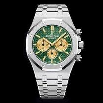 Audemars Piguet Platinum Automatic Green new Royal Oak Chronograph