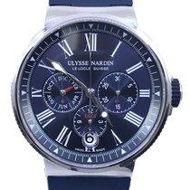 Ulysse Nardin Marine Chronograph Steel 43mm Blue Roman numerals United States of America, Florida, Naples