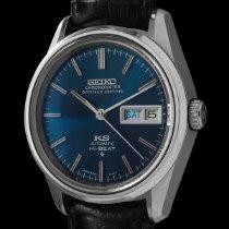Seiko King Steel 36mm Blue No numerals