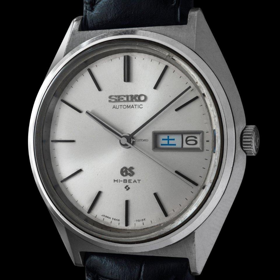 Seiko Grand Seiko 5646-7010 1970 pre-owned