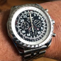 Breitling Bentley Le Mans Steel 49mm Black Arabic numerals