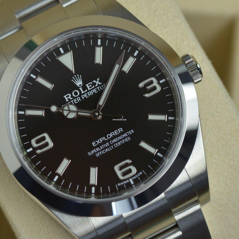 Rolex Explorer 214270 2019 tweedehands