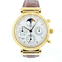 IWC Da Vinci Perpetual Calendar Yellow gold 39mm White United States of America, New York, New York