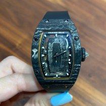 Richard Mille RM 07 Углерод 45.66mm Черный Без цифр