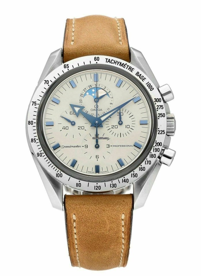 Omega Speedmaster Professional Moonwatch Moonphase 3875.20.37 pre-owned