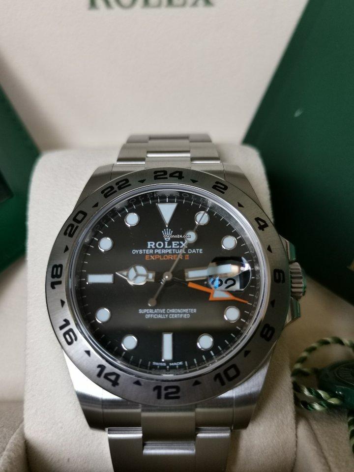 Rolex Explorer II 216570 2021 nuevo