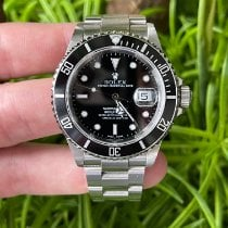 Rolex Submariner Date Steel 40mm Black No numerals United States of America, California, Los Angeles