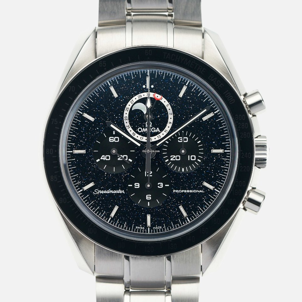 Omega Speedmaster Professional Moonwatch Moonphase 311.30.44.32.01.001 2009 pre-owned